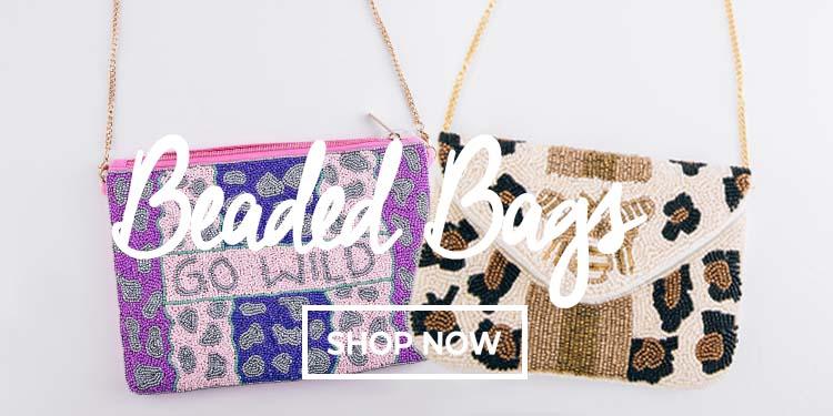 4-20 Beaded Handbags