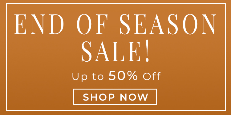 8-20 End of Season Sale
