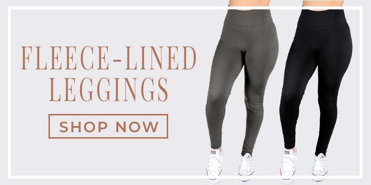 9-20 2 Fleece Lined Leggings