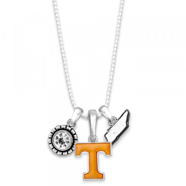 Wholesale officially licensed metal necklace university logo