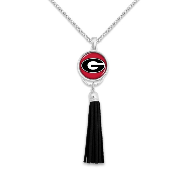 "University of South Carolina Tassel Pendant Game Day Necklace.  - Pendant 4""  - Approximately 38"" L"