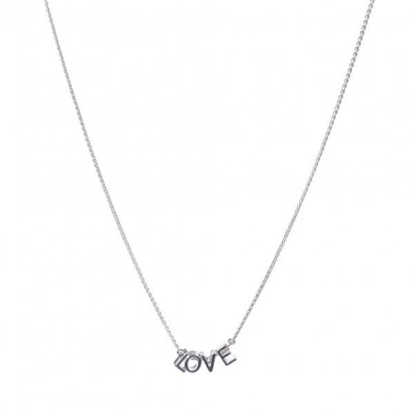 "Necklace Featuring Metal Letter Beads That Spell ""Love"".   - Necklaces Measures Approximately 18"" in Length - Adjustable Extender Measures Approximately 3"" in Length"
