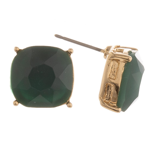 Wholesale semi Precious Stone Stud Earrings mm