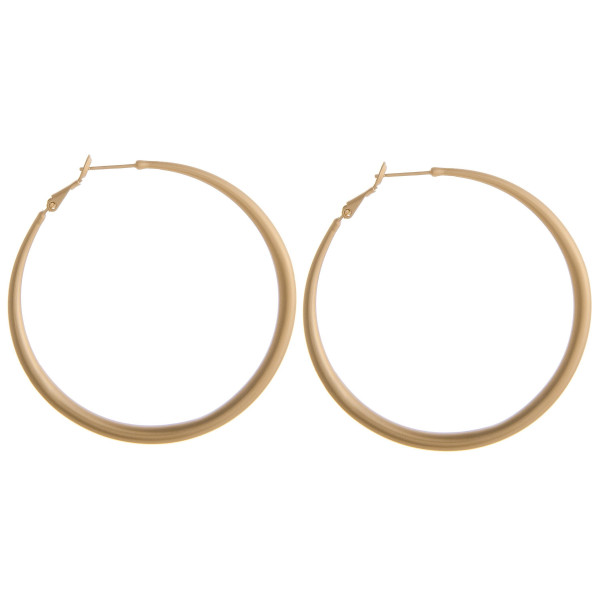 Wholesale large metal hoop earrings diameter