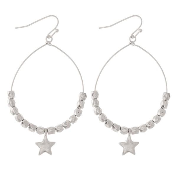 Wholesale beaded Star Drop Earrings L diameter