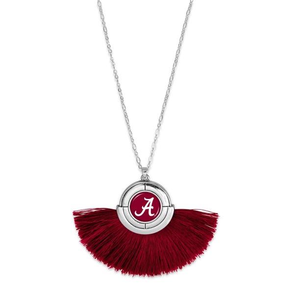 Wholesale alabama Game Day Tassel Pendant Necklace Pendant approx L T L Adjustab