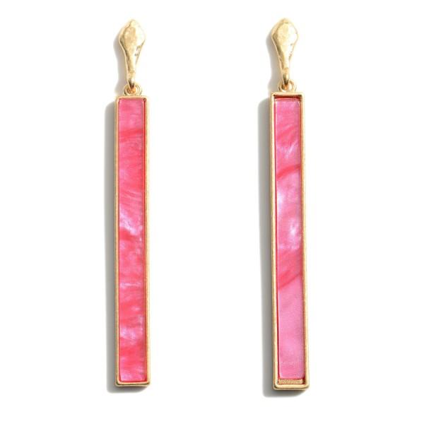 Wholesale resin Drop Earrings Long