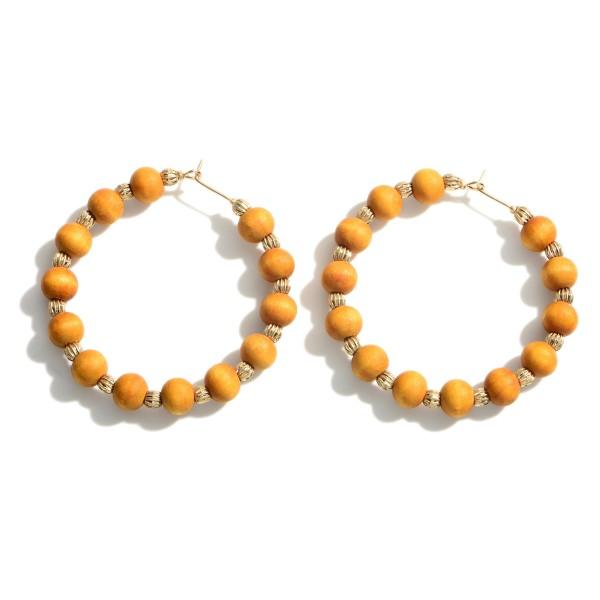 Wholesale beaded Hoop Earrings Diameter