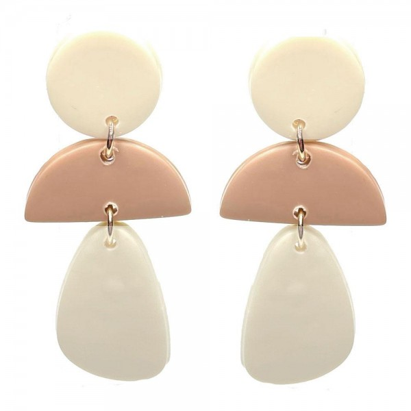 Wholesale clay Polymer Drop Earrings Long