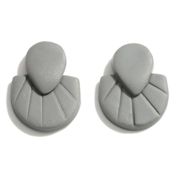 Wholesale clay Polymer Stud Earrings