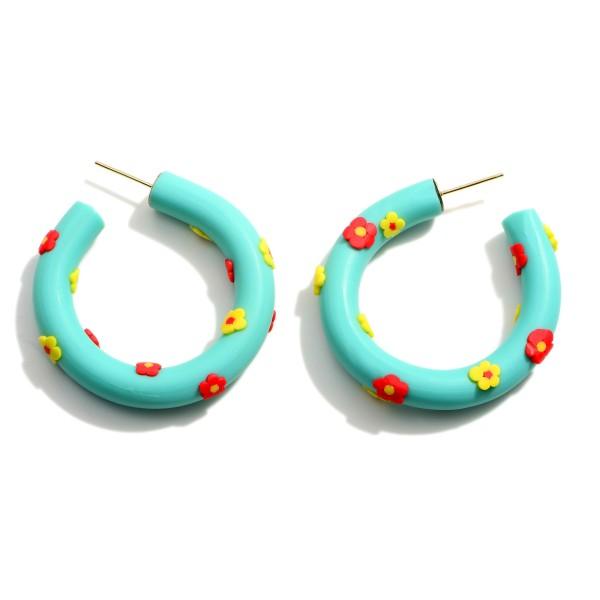 Wholesale polymer Clay Earrings Flowers