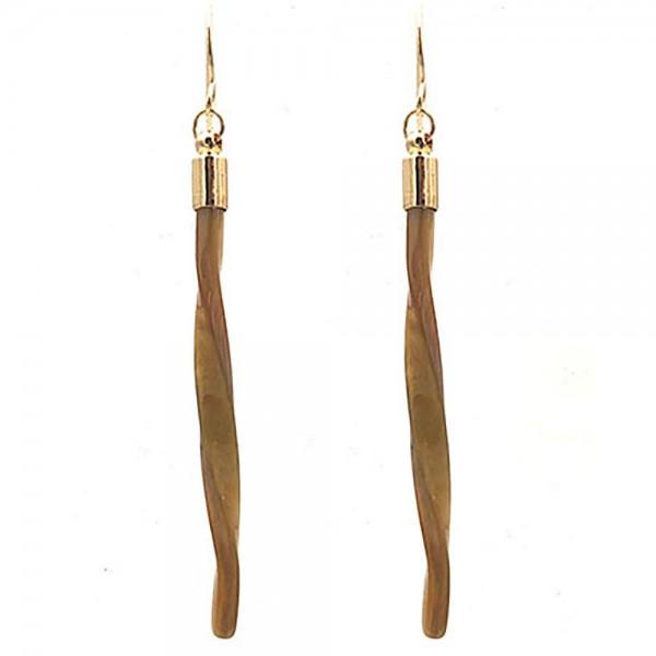 """Resin Drop Earrings.   - Approximately 3"""" Long"""
