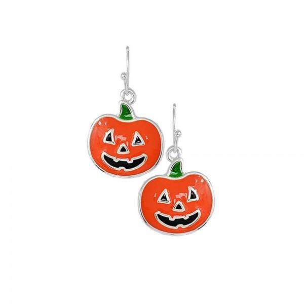 "Halloween Themed Drop Earrings.   - Approximately 2"" Long"