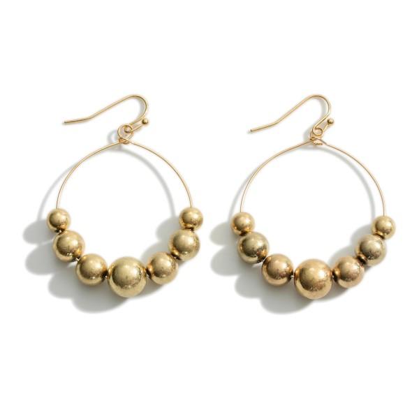 """Silver Tone Drop Earrings.   - Approximately 2"""" Long"""