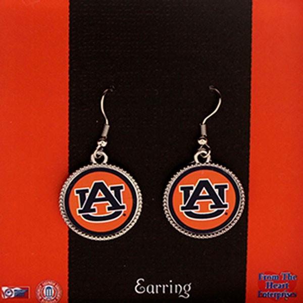 Wholesale officially Licensed Collegiate Product Auburn University Earring Set P