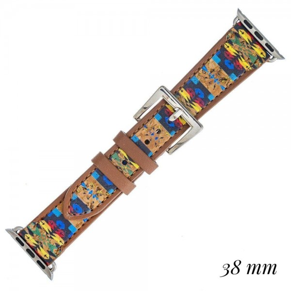 Wholesale interchangeable faux leather western smart watch band smart watches on