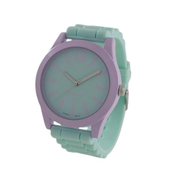 Wholesale watch Silicone Band Geneva Watch