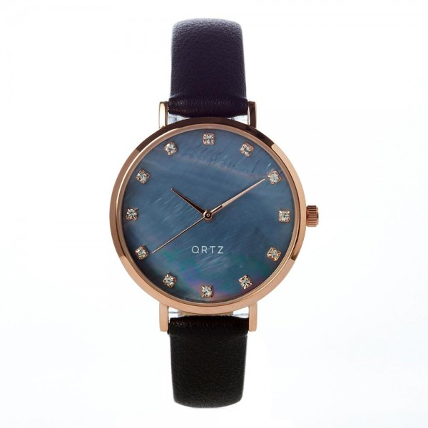 """Watch Featuring Silicone Band and Ortz Watch Face with CZ Accents.  - Band Approximately 9.5"""" in Length - Watch Face Approximately 1.5"""" in Diameter"""