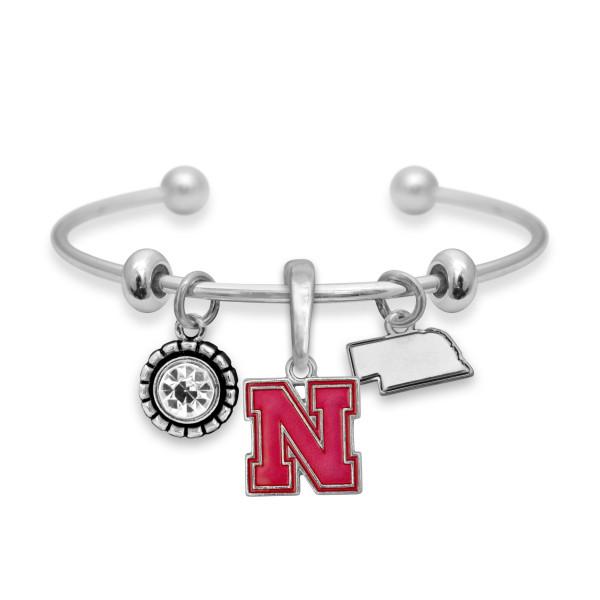 Wholesale officially licensed cuff bracelet university logo