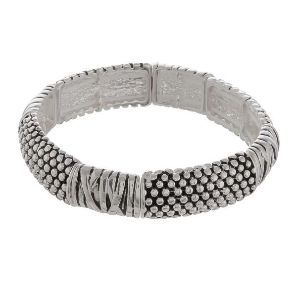 Wholesale metal stretch bracelet Approximate