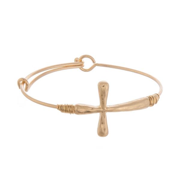 Wholesale metal bracelet cross wrist details Approximate diameter