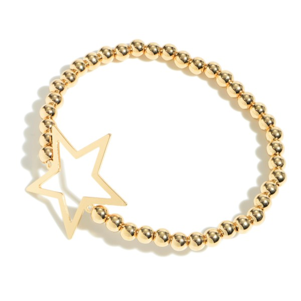 Wholesale beaded Star Stretch Bracelet Diameter