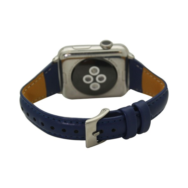"""Interchangeable Faux Leather Smart Watch Band for Smart Watches Only.  - Fits 38mm Watch Face - Band Width: .5"""" - Approximately 3"""" in Diameter - Adjustable Band"""