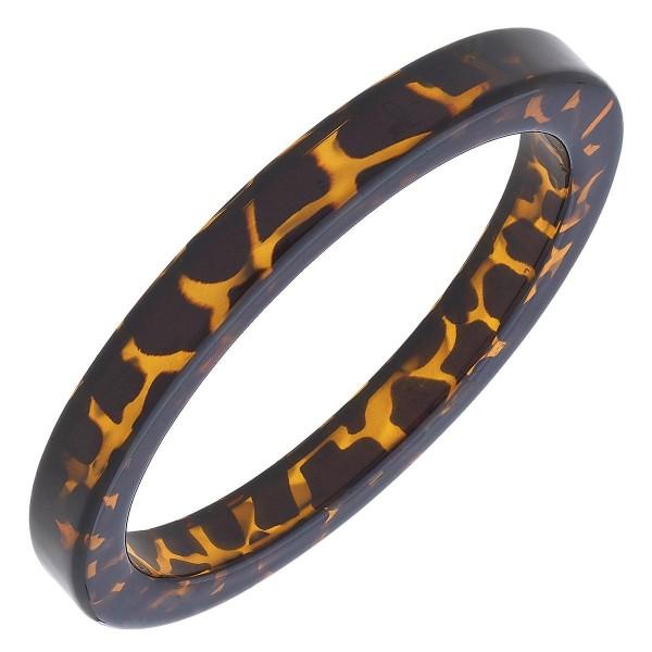 """Tortoise Shell Bangle Bracelet.  - Approximately 3"""" in Diameter"""