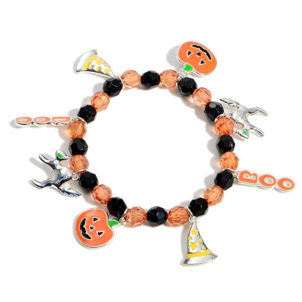Wholesale beaded Charm Bracelet Halloween Themed Charms Diameter