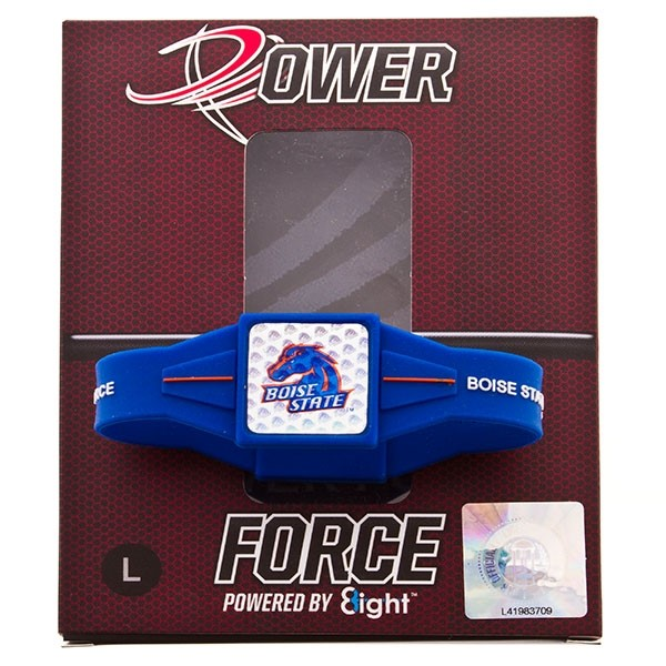 From the gridiron to the court, the backyard to the stands, let Power Force help you with their ion technology find your inner force. BRONCO FANS - FIND YOUR POWER! Officially licensed. Large