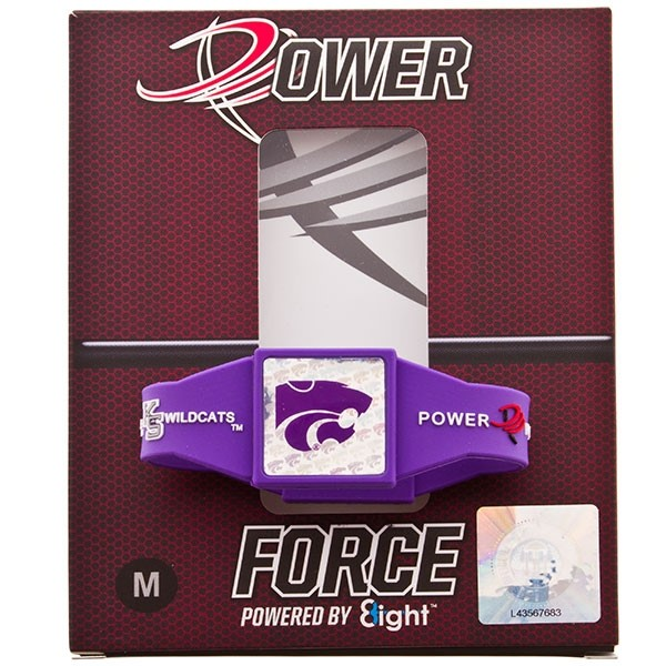 From the gridiron to the court, the backyard to the stands, let Power Force help you with their ion technology find your inner force. WILDCAT FANS - FIND YOUR POWER! Officially licensed. Medium
