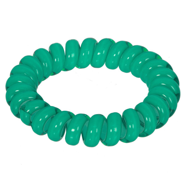 Strong Grip No Pull Telephone Cord Hair Tie.