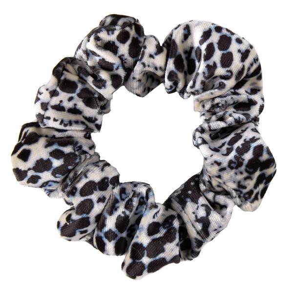 Velvet snakeskin hair scrunchie.  - One size - 100% Polyester