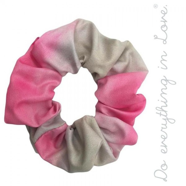 Do everything in Love brand tie-dye hair scrunchie.  - One size - 100% Polyester