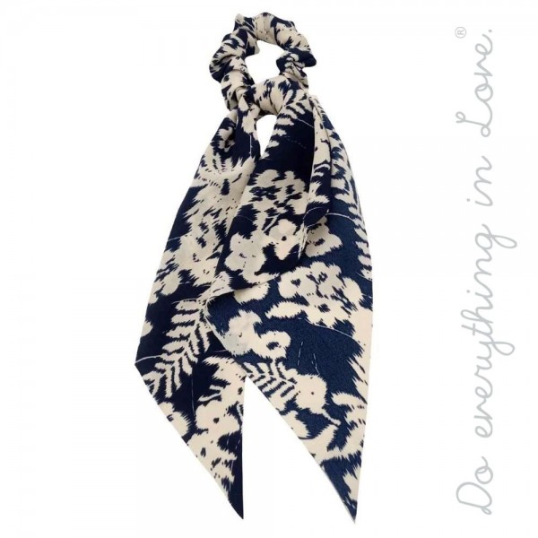 """Do everything in Love Brand Floral Leaf Hair Scarf.  - One size - Approximately 11"""" L - 100% Polyester"""