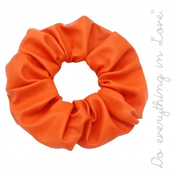 Do everything in Love brand solid PU hair scrunchie.  - One size - 100% PU