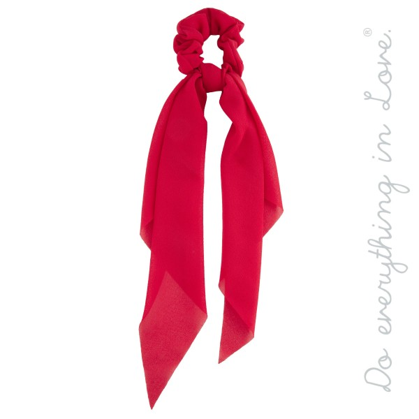 Wholesale do everything Love Brand Solid Color Hair Scarf L Polyester