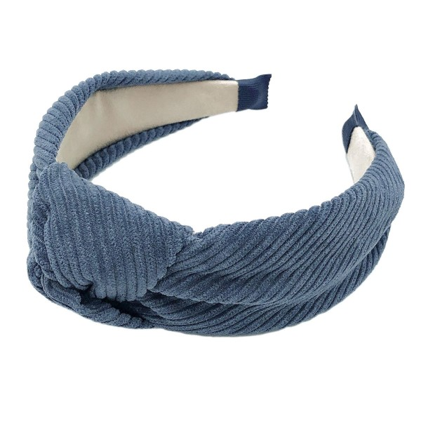 Do everything in Love Brand Corduroy Knotted Headband.  - One size fits most - 100% Polyester