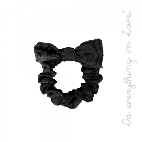 Do everything in Love Brand Wrinkle Knotted Hair Scrunchie.  - One size  - 100% Polyester