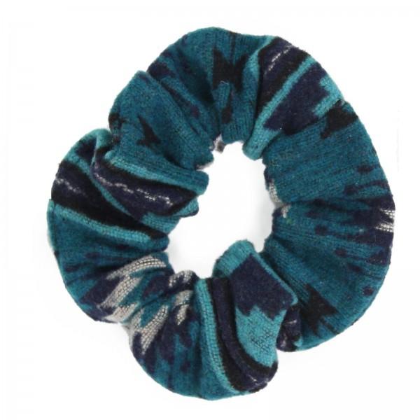 Printed Hair Scrunchie