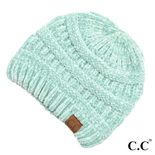 Wholesale c C HAT Chenille Knit Beanie One fits most Chenille One fits most Chen