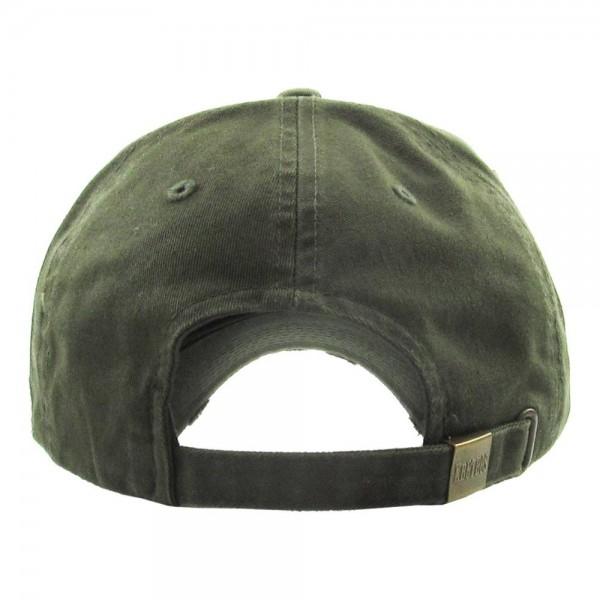 Vintage Distressed Blue Line Flag Baseball Cap.  - One size fits most  - Adjustable Back Closure - 100% Cotton