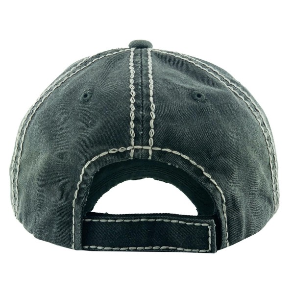 """Vintage Distressed Baseball Cap Featuring """"Super Mom, Super Tired, Super Blessed"""".  - One size fits most - Adjustable Velcro Closure - 100% Cotton"""