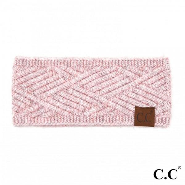 Wholesale c C HW Diagonal Stripe Criss Cross Knit Pattern Head Wrap One fits mos