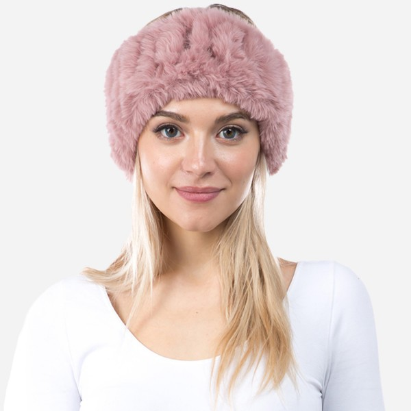 "Faux Fur Headband.  - Approximately 5"" Band Width - Approximately 18"" Head Circumference  - 93% Polyester / 7% Olefin"