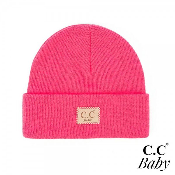 C.C BABY-HTM-1 Unisex Knit Baby Beanie  - One Size Fits Most - 100% Acrylic