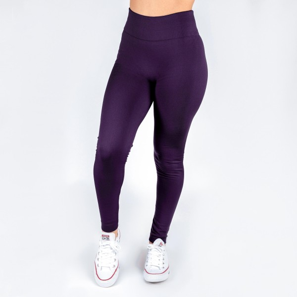 Wholesale kathy Mix purple summer weight leggings seamless chic must have every