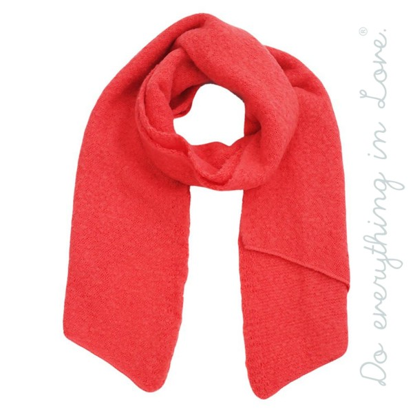 "Do everything in Love Brand Soft Knit Bias Cut Scarf.  - Approximately 16"" W x 79"" L - 100% Acrylic"
