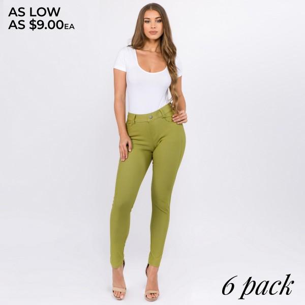 Wholesale women s Classic Skinny Jeggings o Full jeggings light sheen jean o Lig