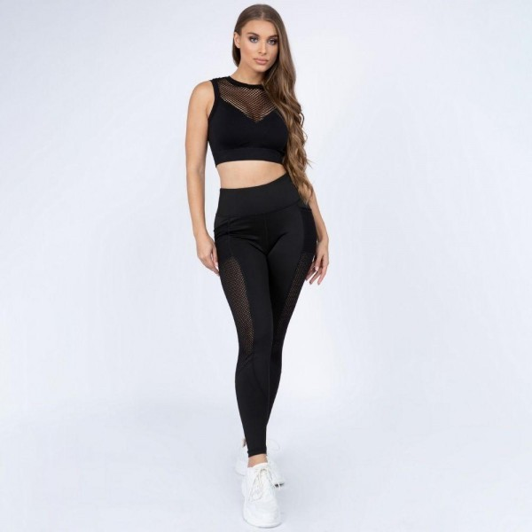 Women's active seamless mesh high neck sports bra.  • High neckline • Perforated mesh detail • 4-way stretch fabric for a move with you feel • Moisture wick fabric • Fits like a glove • Seamless design for extra comfort • Perfect for low to high impact workouts • Imported  - Pack Breakdown: 6pcs/pack - Sizes: 2S / 2M / 2L - 93% Nylon, 7% Spandex